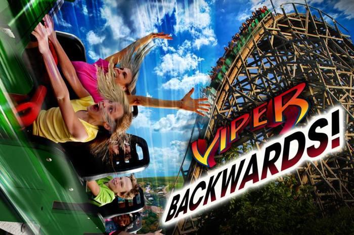 viper backwards