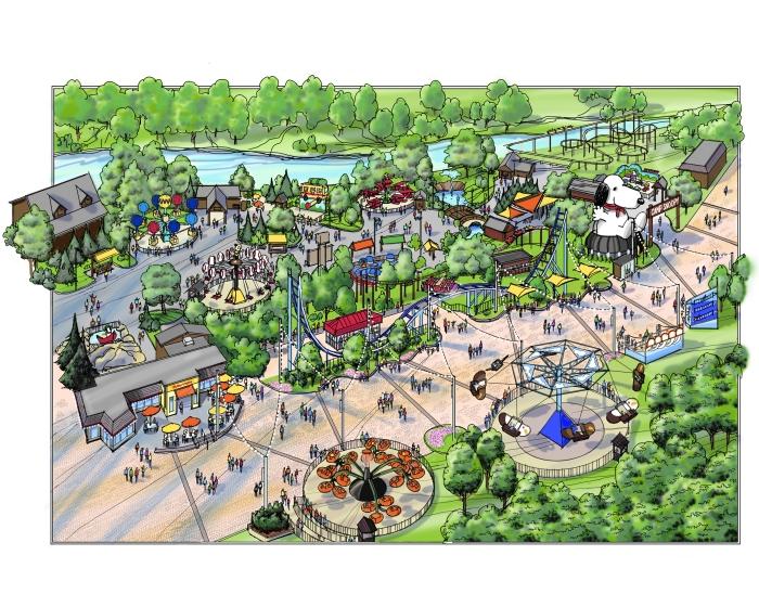 Cedar Point 2014 Gemini Midway