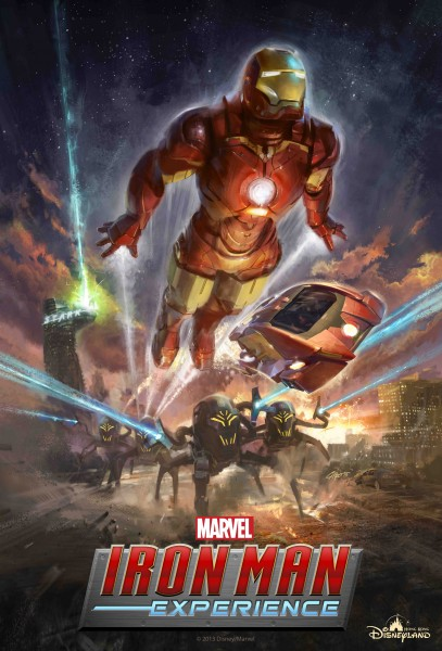 Iron Man Exp Poster- Hong Kong DL